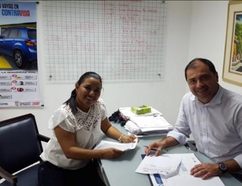 Convenio interadministrativo entre el Instituto de Tránsito del Atlántico y la Alcaldía del Municipio de Candelaria