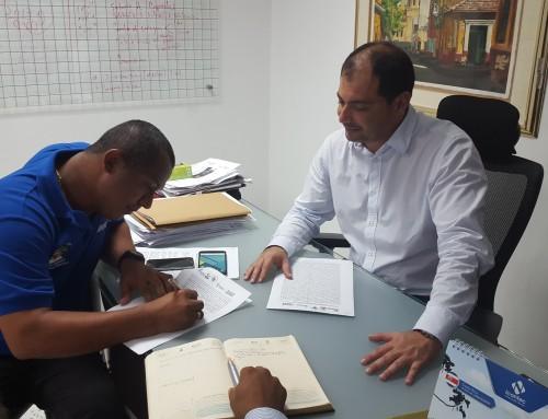 Convenio Interadministrativo entre el Instituto de Tránsito del Atlántico y el Municipio de Santa Lucia.
