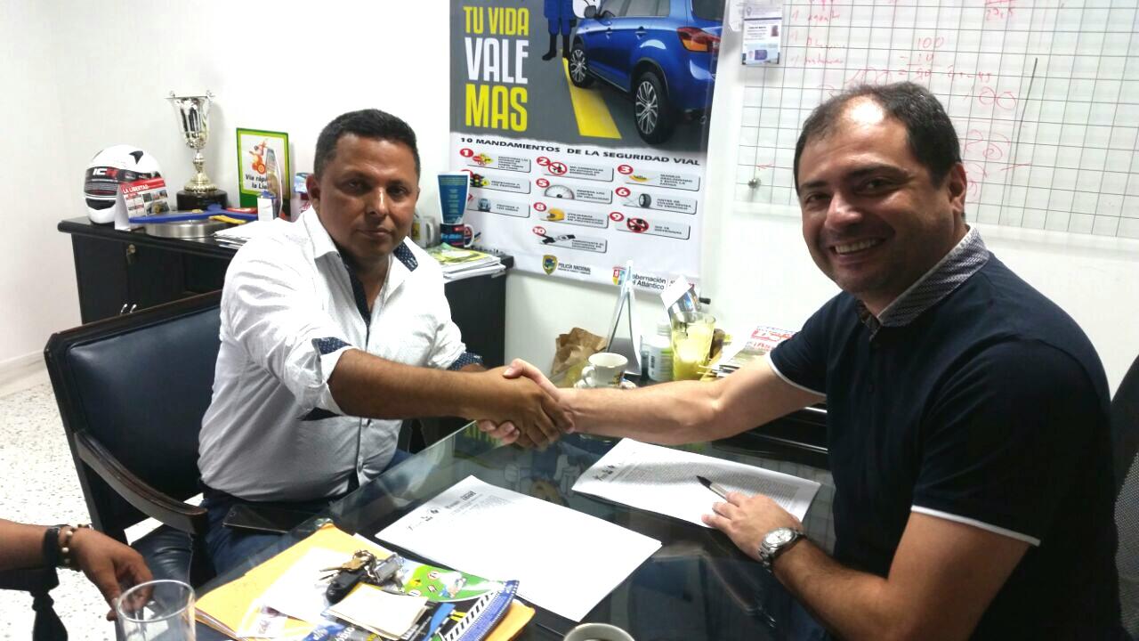 Convenio Interadministrativo entre el Instituto de Tránsito del Atlántico y el Municipio de Tubará