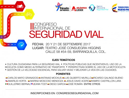 2do CONGRESO INTERNACIONAL DE SEGURIDAD VIAL