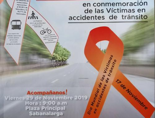 Día Mundial de Conmemoración de las Víctimas en accidentes de Tránsito